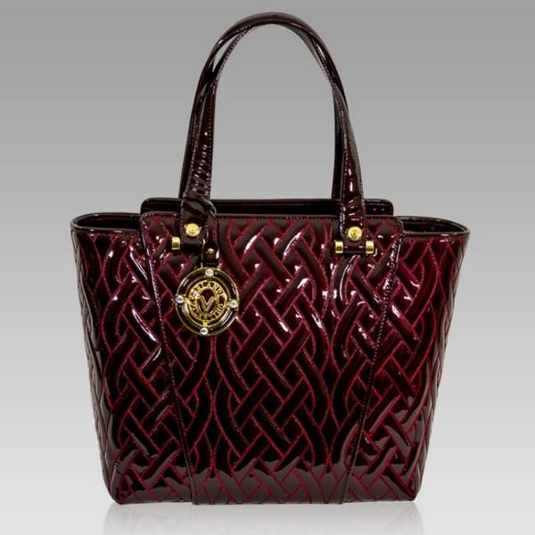 9160499d053e Valentino Orlandi Burgundy Quilted Leather Tote Bag Valentino Orlandi  Burgundy Quilted Leather Tote Bag [02VO4088PLBG] - $1,150.00 : Custom Made  ...