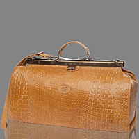 Designer Italian Leather Doctor Bags