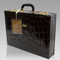 Designer Italian Leather Business Computer Bags