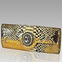 Designer Italian Clutches Evening Handbags and Purses