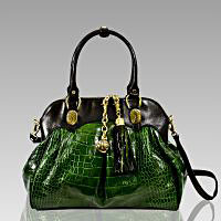 Designer Italian Leather Large Oversized Handbags and Purses