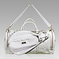 Designer Italian Leather Tennis Bags and Luggage