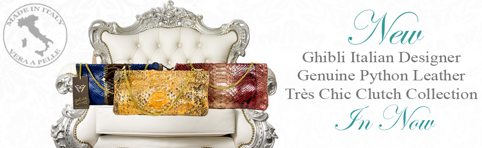 New Ghibli Italian Designer Genuine 