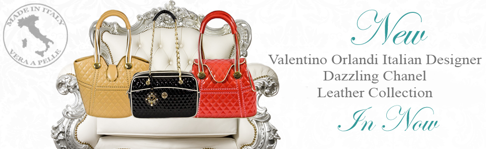 New Valentino Orlandi Italian Designer 
