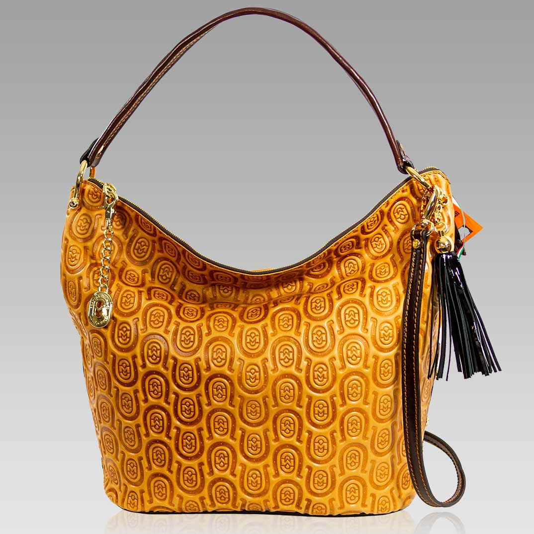 Top Handle Patch Quilted Satchel Bag with Spacious Main Compartment