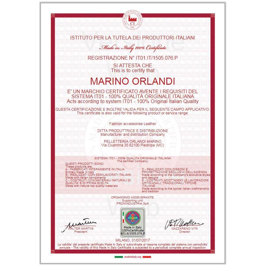 Marino Orlandi White Chanel Lether Bucket Sling Purse