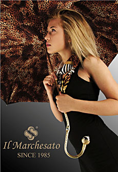 Il Marchesato Designer Fashion Umbrellas