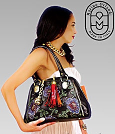 New 2013 Handpainted Marino Orlandi Handbags