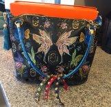 Marino Orlandi hand painted bag is stunning