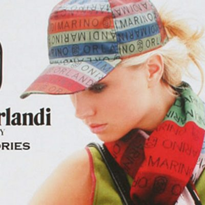 Marino Orlandi  MLT Tessuto Signature Hat Cap~Med