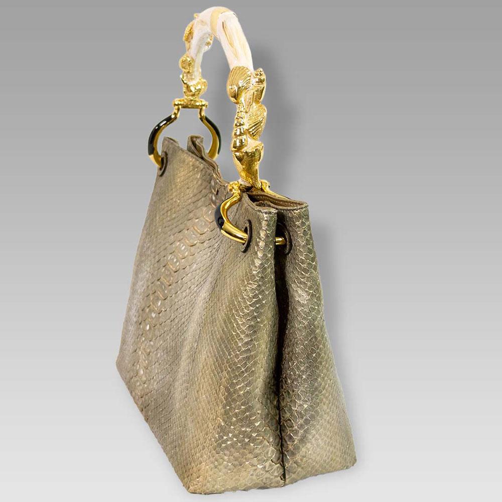 Silvano_Biagini_Metallic_Genuine_Python_Leather_Bag_Seashel_Handle_01SB8797PLGL_01.jpg