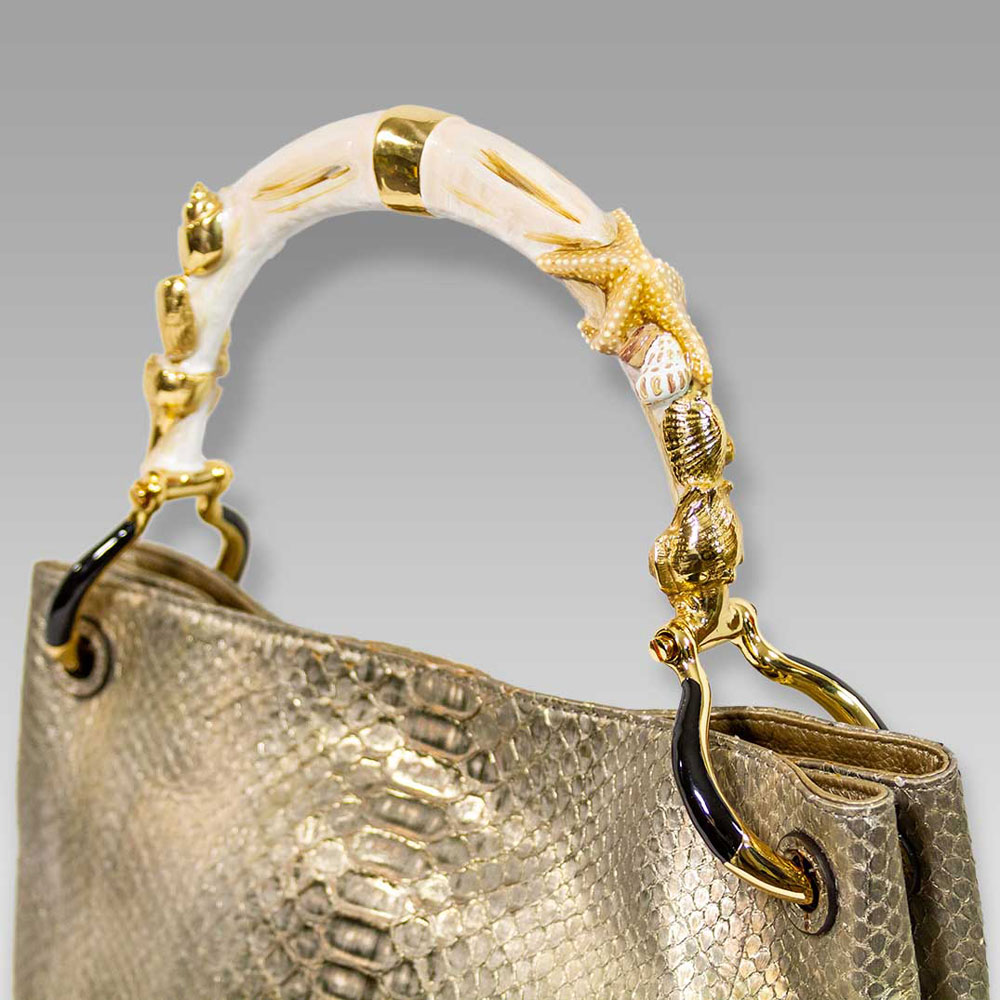 Silvano_Biagini_Metallic_Genuine_Python_Leather_Bag_Seashel_Handle_01SB8797PLGL_02.jpg