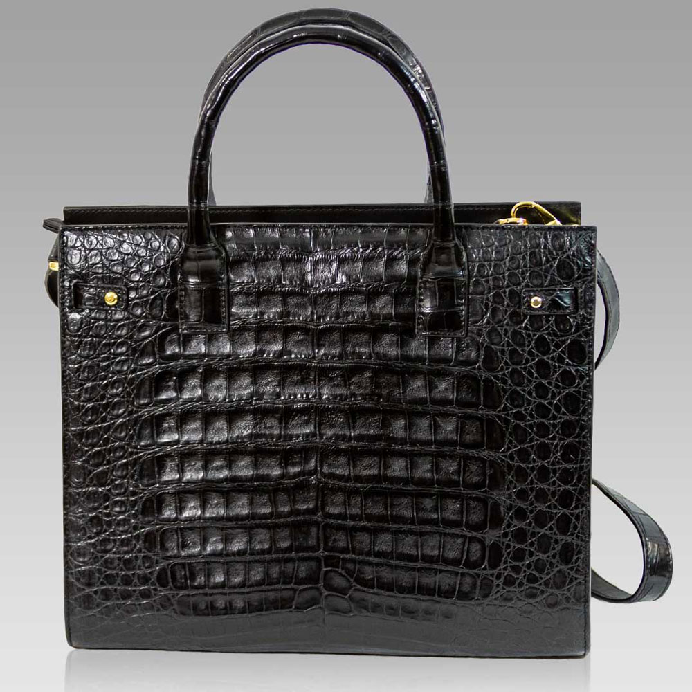Silvano_Biagini_Onyx_Genuine_Crocodile_Leather_Large_Tote_Purse_Bag_01SB8854CLBL_01.jpg