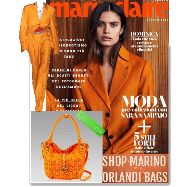 Marino_Orlandi_Orange_Equestiran_Monogram_Leather_Large_Crossbody_Bag