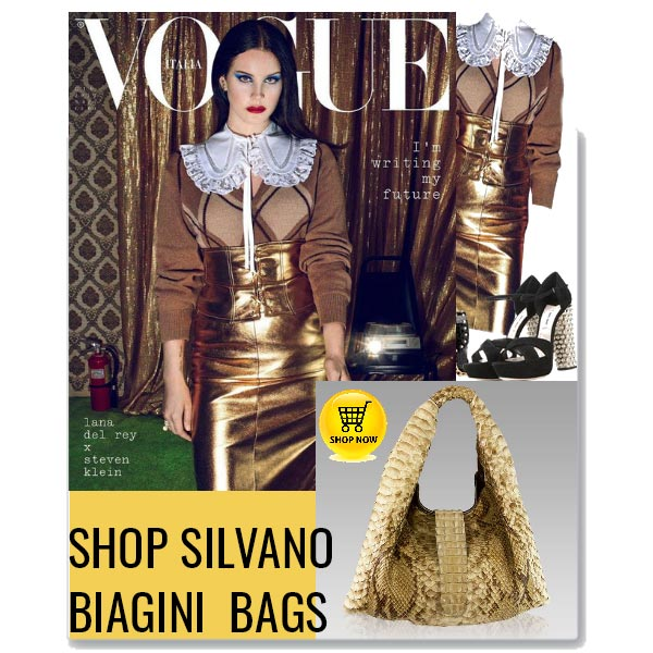 Silvano_Biagini_Citrine_Python_Crocodile_Leather_Large_Slouchy_Bag