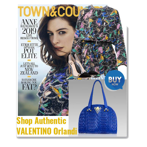 Valentino_Orlandi_Cobalt_Blue_Pleated_Draped_Leather_Bowling_Bag