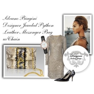 silvano_biagini_handbag_purse_python_leather_clutch_bag_antracite