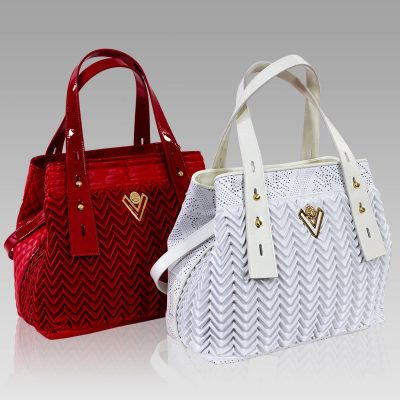 Quilted and Pleated Handbags